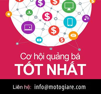 Đặt Banner quảng cáo trên motogiare.com