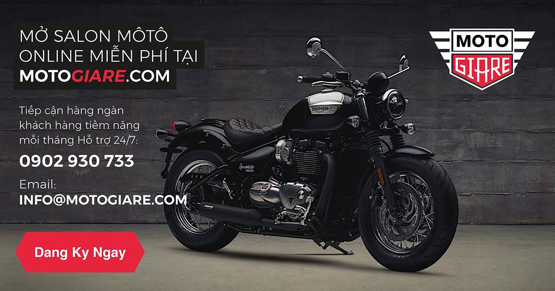 Mở cửa hàng moto online miễn phí trên Motogiare.com